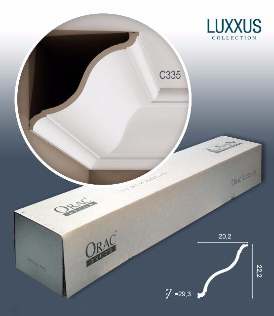Orac Decor C335 LUXXUS 1 Karton SET mit 9 Stuckleisten | 18 m