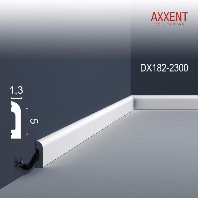 Orac Decor DX182-2300-box 1 Karton SET mit 36 Türumrandungen Sockelleisten | 82,8 m