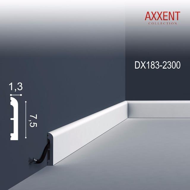 Orac Decor DX183-2300-box 1 Karton SET mit 22 Türumrandungen Sockelleisten | 50,6 m