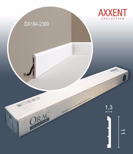 Orac Decor DX184-2300-box 1 Karton SET mit 16 Türumrandungen Sockelleisten | 36,8 m
