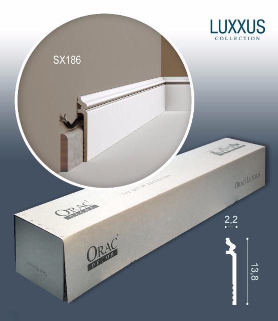Orac Decor SX186-box 1 Karton SET mit 20 Sockelleisten Stuckleisten | 40 m