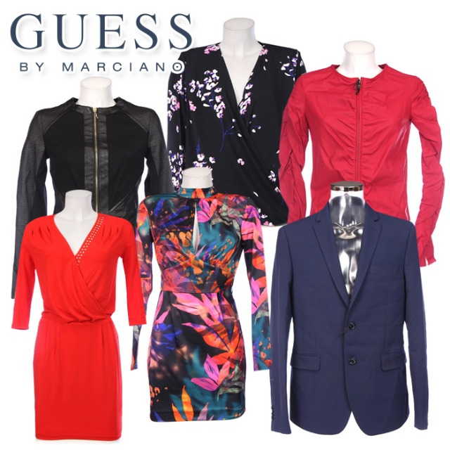 GUESS BY MARCIANO clothes for women and men wholesale. New Arrivals