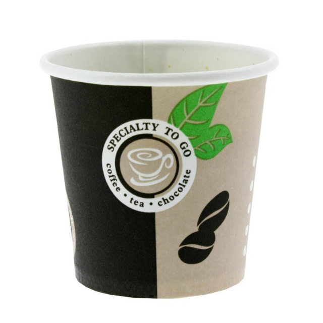 ecolle Kaffeebecher (Coffee to go) 100ml 2000er Packung