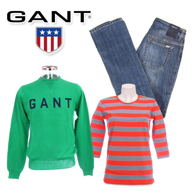 !GANT clothes for women and men wholesale