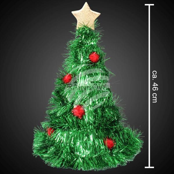 Weihnachtsmütze Weihnachtsbaum mit Baumschmuck