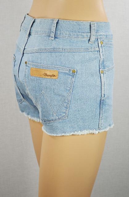 Wrangler Allie Damen Jeans Shorts W28 Kurzhose Jeansshorts 28111505