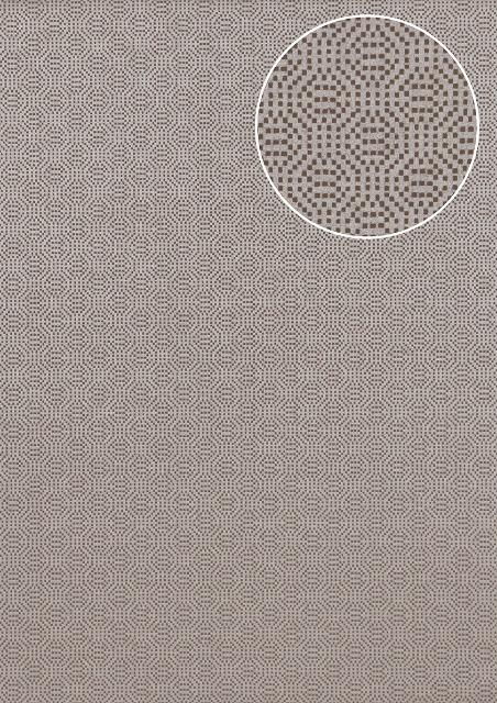 Atlas COL-543-3 Struktur Tapete Uni schimmernd platin-grau silber 5,33 m2