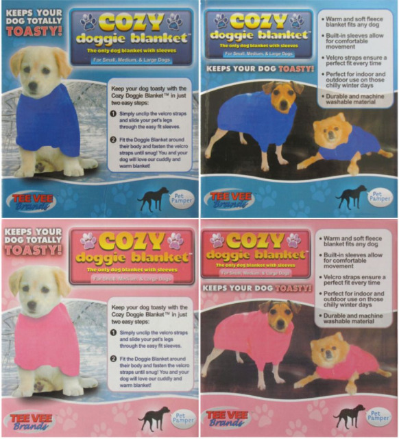 Clothes for dogs dog blankets wetry fleece warm