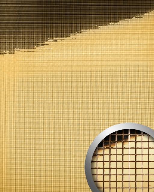 WallFace 10592 M-Style Design Platte Wand-paneel Mosaik Spiegel gold | 0,96 qm