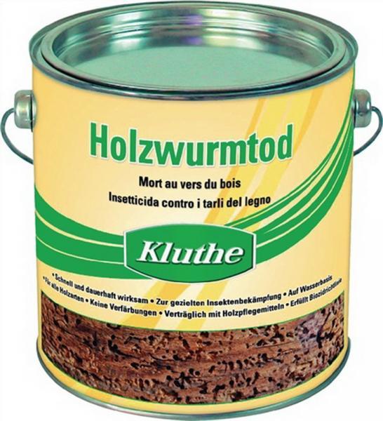 Holzwurmtod 750ml farblos wasserverdünnbar geruchsmild, 6 St.