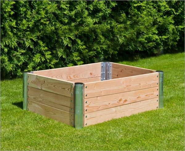 Hochbeet Holz Premium Rechteckig 45 Cm 14431116 Restposten De