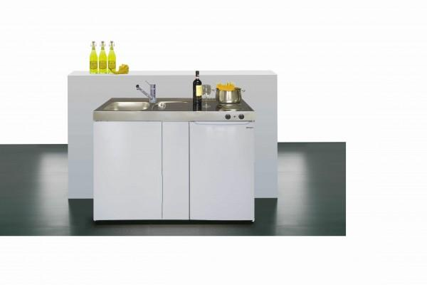 Miniküche Mit Kühlschrank Ohne Kochfeld : MinikÜche easyline me120 ohne kochfeld spüle links 15542248