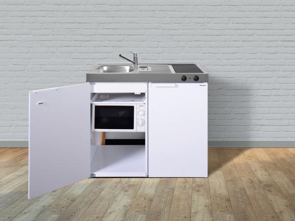Miniküche Mit Kühlschrank Und Spüle : MinikÜche mkm kühlschrank glaskochfeld rechts spüle link