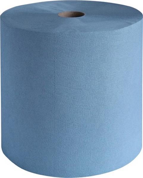 Putztuch profix durex plus L.360xB.380mm blau, 3lagig zwischenblattverleimt
