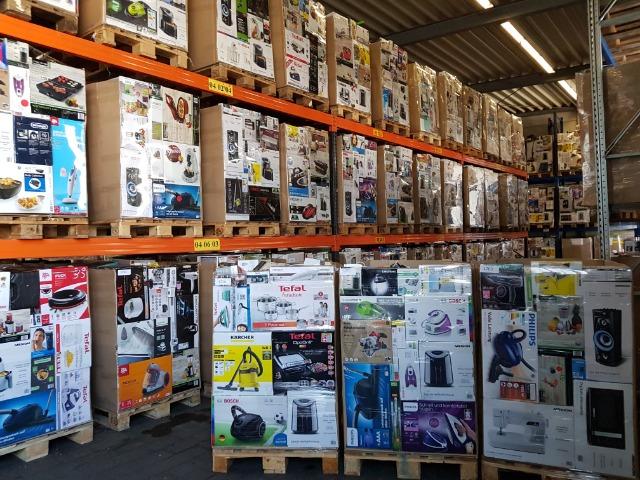 Tefal, Kärcher, Bosch, Medion, Philips, AEG, etc. B-Ware Mixpaletten
