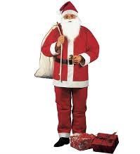 Weihnachtsmann Nikolaus Santa Claus Kostüm Anzug