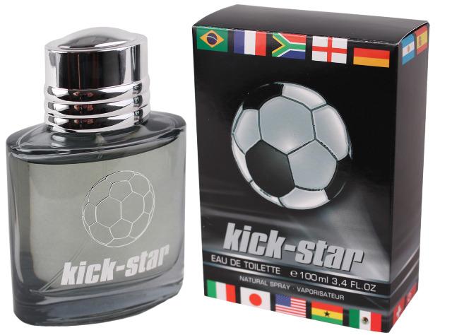 Herren Men Homme Parfüm Eau de Toilette Kick-Star Spray Duft Parfum 100 ml - 1,99 Euro