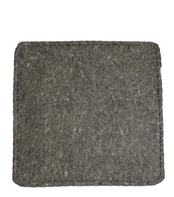 Sitzkissen aus Wollfilz