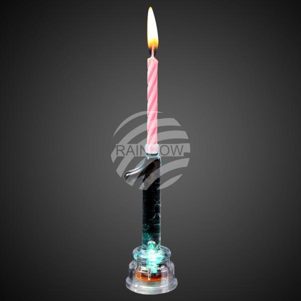 LED Kerzenhalter Zahl 1