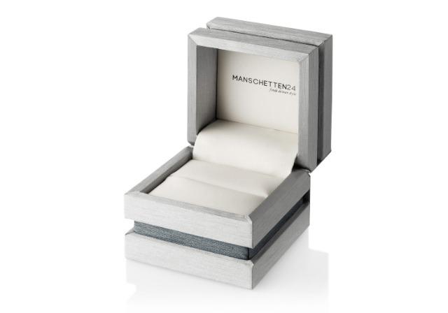 *1.400 Stück* Edles Holzetui für Manschettenknöpfe / Ringe / Ohrstecker uvm. von MANSCHETTEN24 (Geschäftsauflösung)