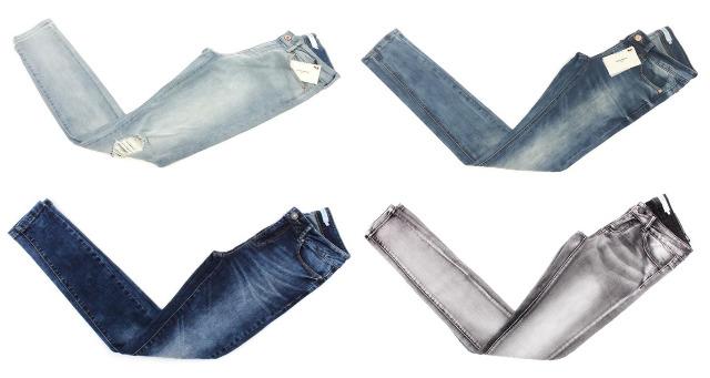 Damen Vero Moda Jeans Hosen Marken Mix Mode Kleidung Restposten
