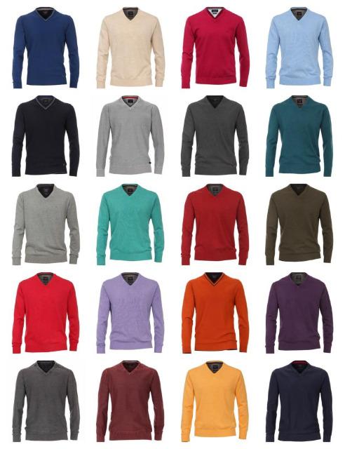 Herren Marken Pullover Sweater Strick Pulli Mix Winter Sweat Mode