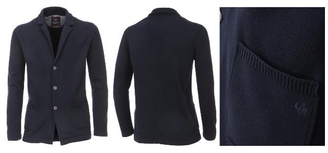 Herren Strick Blazer Sweatjacke Marken Sweat Jacke Wintermode Bekleidung
