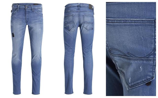 Jack and Jones Herren Marken Jeans Hosen J&J Glenn Mode Kleidung
