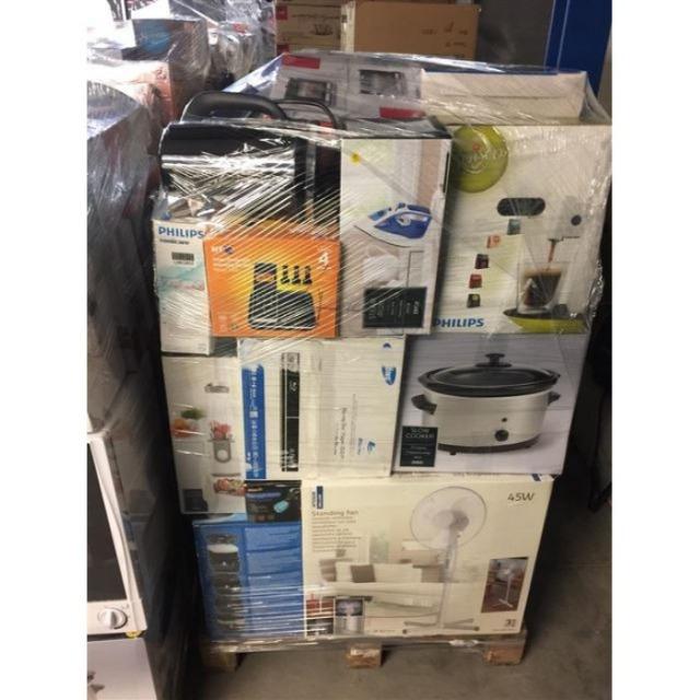 Haushaltsware Mischpalette Palettenware Mixpaletten Elektro Haushaltsgeräte A, B, C Ware