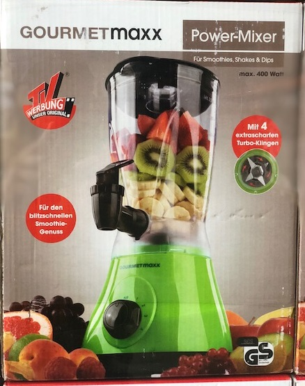 GOURMETmaxx Power - Mixer 2in1 400W in Grün