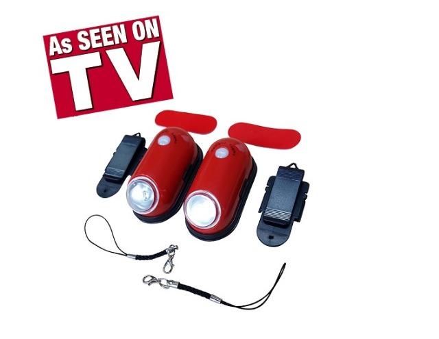 2er Set automatische Handtaschen LED Beleuchtung Lampe mit Clip