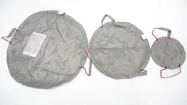 3 teilige Solutions Taschen, Beutel mit Tunnelzug Outdoor geeignet