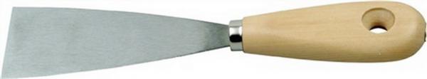 Malerspachtel China B.40mm flachovales Holzheft