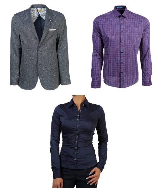 Premium Damen Blusen, Herren Hemden und Sakkos - 935 Einheiten