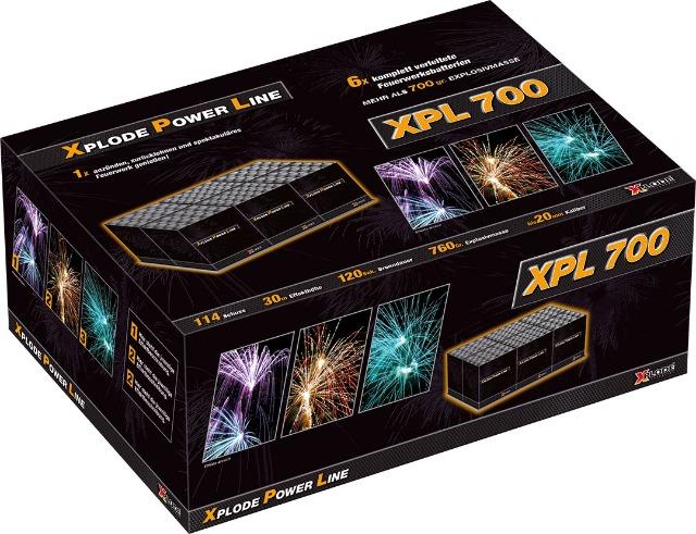 Xplode Power Line 700+ Verbund Batterie Feuerwerk
