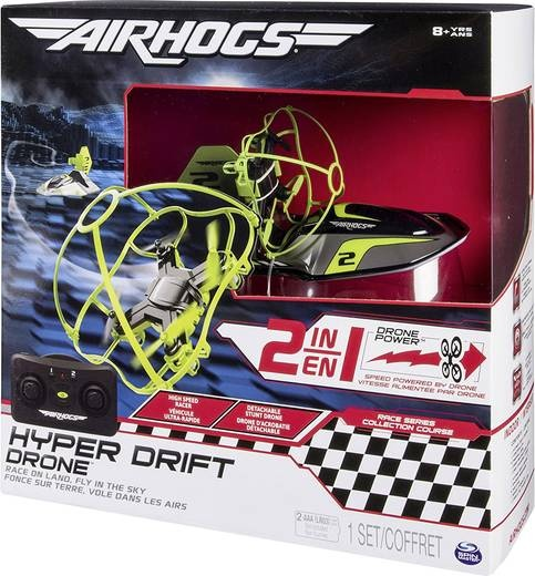 27-51863, Spin Master Airhogs Hyper Drift Drohne 2in1