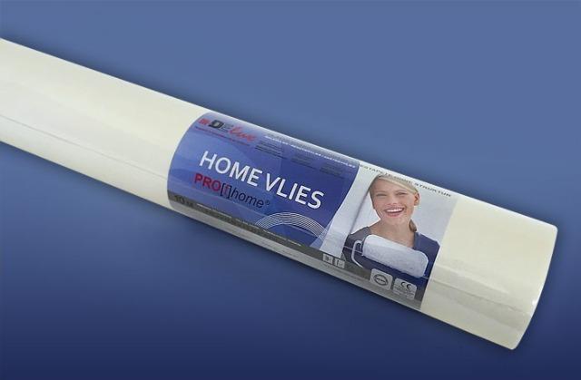 HomeVlies glatte überstreichbare Vliestapete weiß ohne Struktur Glattvlies Renoviervlies Malervlies Vlies-Tapete