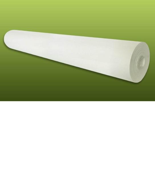 Profhome Renoviervlies 150 g Malervlies Anstrich-Vlies glatte überstreichbare Vliestapete weiß | 18,75 qm 25 Meter Rolle