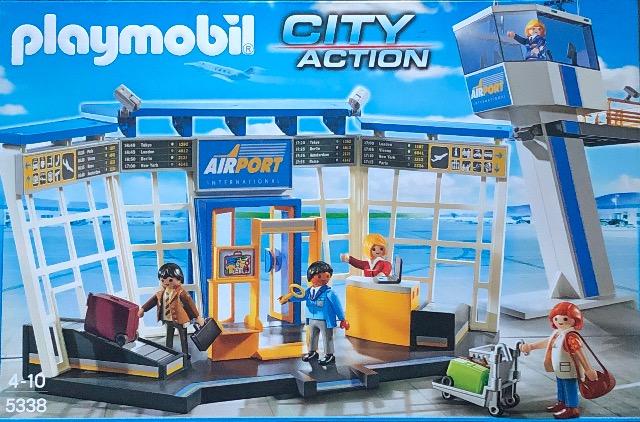 PLAYMOBIL  CITY ACTION FLUGHAFEN MIT TOWER 5338 UVP* 56,99