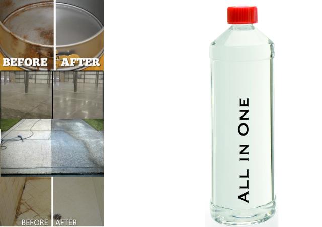 All in One rückfettend Reinigungskonzentrat Universalreiniger KfZ Haus Industrie