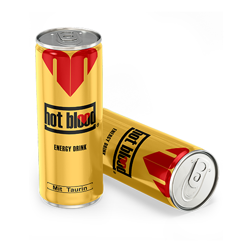 Hot Blood Energy Drink Regular
