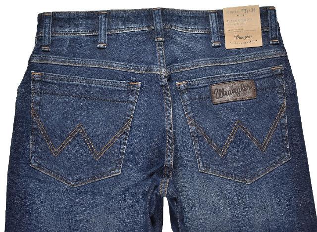 Wrangler Texas Stretch Jeans Hose W31L34 Regular Fit Jeans Hosen 5-1093