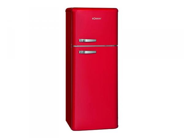 Retro Kühlschrank Doppeltür : Bomann retro doppeltür kühlschrank dtr rot