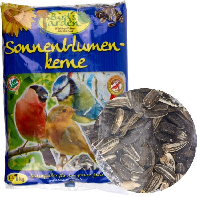 28-631503, Sonnenblumenkerne 1kg, MHD 30.03.2020, Vogelfutter