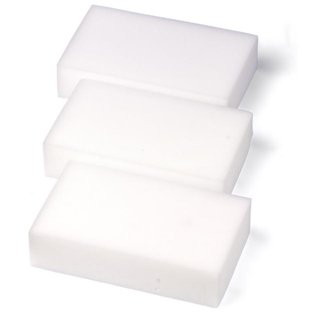 28-771369, Schmutzradierer 3er Pack, radiert hartnäckigen Schmutz einfach weg, keine weiteren Reinigungsmittel notwendig
