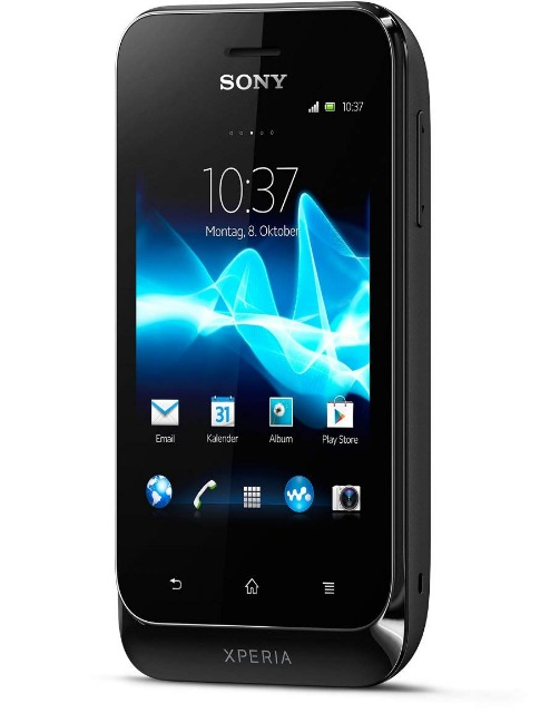Sony Xperia tipo Smartphone (8,1 cm (3,2 Zoll) Touchscreen, 3,2 Megapixel Kamera, Android 4.0)