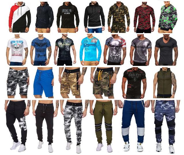 Herren Men Mixposten Pullover T-Shirts Jacken Sport- und Jogginghosen Sweater Hoodies - 3,75 Euro