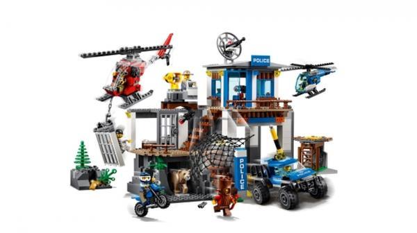 LEGO® City Hauptquartier der Bergpolizei