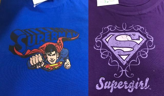Superman/Girl T-Shirt Mädchen/Jungen