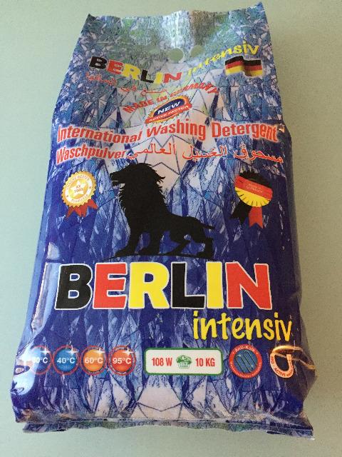 Berlin Vollwaschmittel Waschpulver 10 kg Beutel - MADE IN GERMANY -